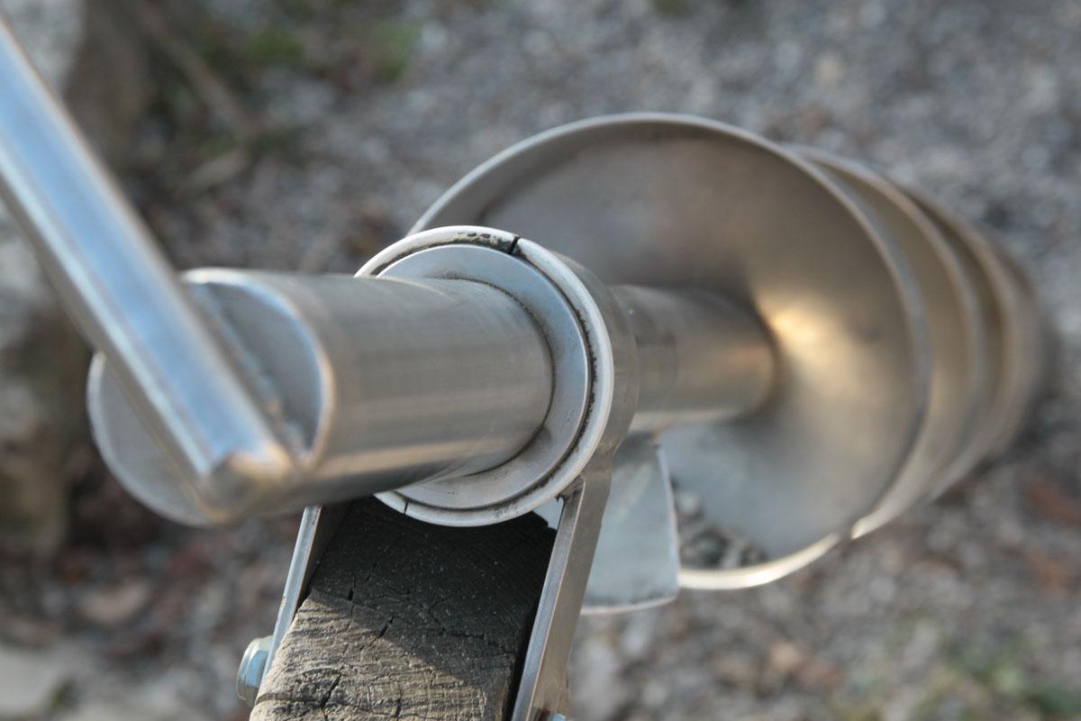 Suchbild Nummer 6: Spielgerät auf dem Spielplatz im Dudweiler Anger