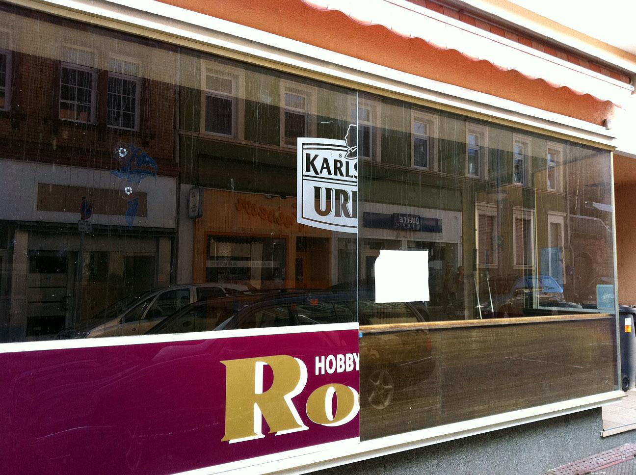 Ehemaliges Gasthaus Rocco in der Saarbrücker Straße