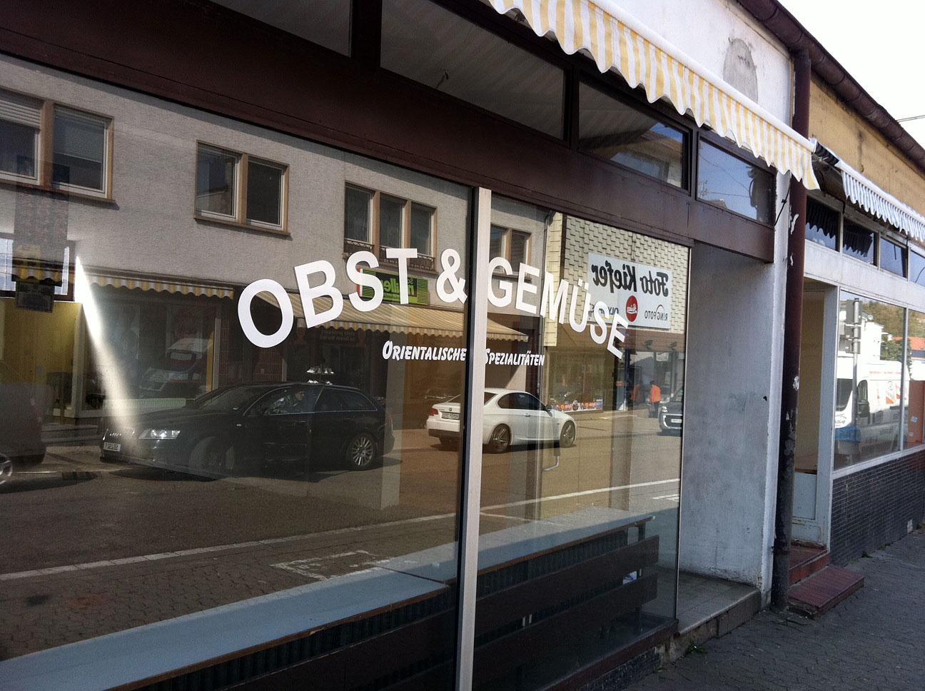 Der Obstladen in der Triererstraße ist auch Geschichte