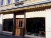 Leerstehendes Café im Jenewein-Haus in der Saarbrücker Straße