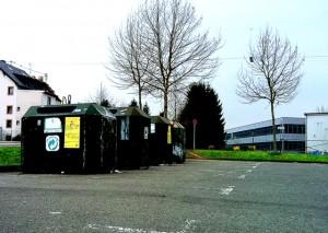Sollen verschwinden: Container auf dem Dudoplatz