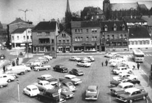 Dudweiler Markt, Ecke Saarbrücker- zu Beethoven-Straße. (C) www.zeitensprung.de
