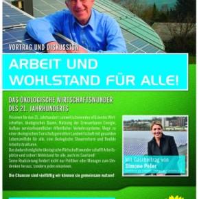 Terminerinnerung: Vortrag und Diskussion mit Solarpionier Franz Alt – HEUTE 14. März 2012