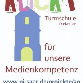 "Projekt an der Turmschule Dudweiler: ""KLiCKT! – Konzept zur Medienkompetenz"""