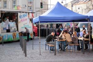 Vertreter der Marktschreier-Gilde zu Gast in Dudweiler (Foto: T.Braun)