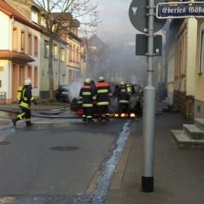 Krimi am Ostersonntag in Saarbrücken und Dudweiler – Raub, Brandstiftung, Verkehrsgefährdung