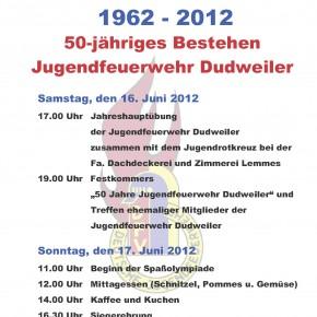 50 Jahre Jugendfeuerwehr Dudweiler