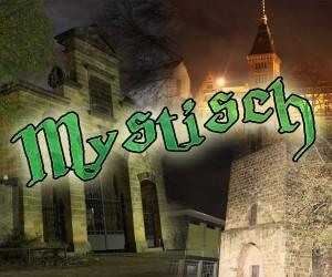 """Motto der diesjährigen Dudweiler Lichtblicke: """"MYSTISCH"""" (Foto-Collage: Dudweiler Blog)"""