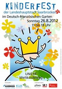 Plakatmotiv des Kinderfestes (Foto: Landeshauptstadt Saarbrücken)