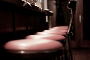 Der schönste Platz ist immer an der Theke - auch im Restaurant Schützenhaus