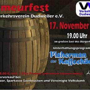 Primeurfest des Verkehrsverein Dudweiler 17.11.2012