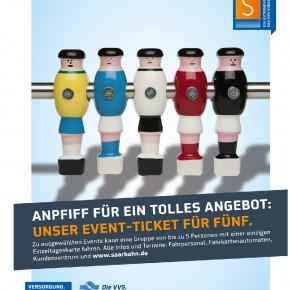 Mit dem EventTicket mit bis zu fünf Personen kostengünstig in die Saarbrücker City