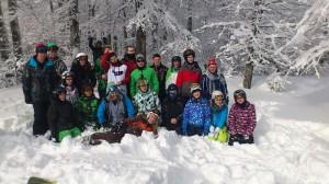 Teilnehmer der Faschingsfahrt des Skiclubs (Foto: Verein)