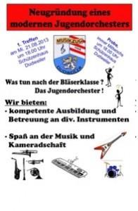 Plakat Jugendorchester