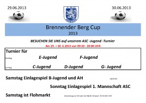 Brennender Berg Cup ASC 2013
