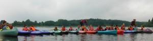 Kanuaktion der DJK-Schwimmer (Foto: Verein)
