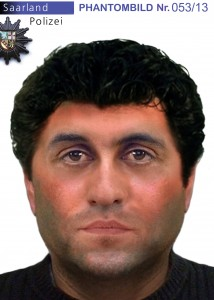 Phantombild eines mutmaßlichen Einbrechers (Foto: Polizei)