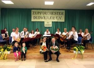 Das Zupforchester Dudweiler (Foto: Verein)