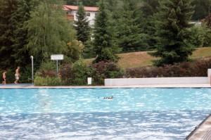 Nichtschwimmerbecken im Dudweiler Freibad - Anfang der 90er Jahre (Foto: privat)