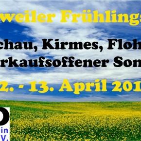 Dudweiler Frühlingsfest 2014 lockt mit Autoschau, verkaufsoffenem Sonntag und Kirmestreiben
