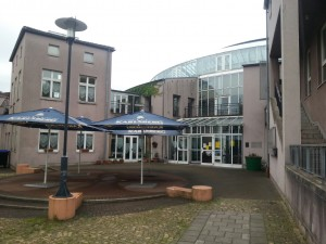 Bürgerhaus-Terrasse