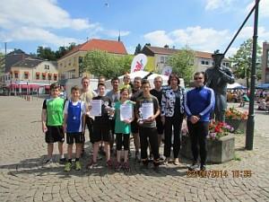 Gruppenbild unserer Boxabteilung des ASC Dudweiler (Foto: Verein)