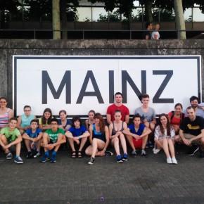 Schöner Wettkampf in Mainz trotz Hitzewelle in der Halle