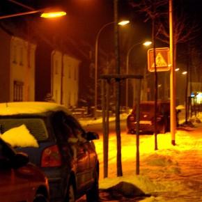 Kantstraße im Schnee am 19. Dezember 2009 (Foto: Daniel Kopp)