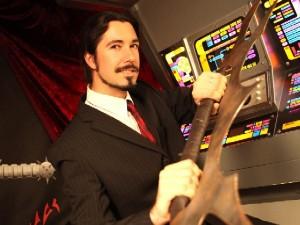 Klingonisch-Lehrer Lieven l. Litaer (Foto: Lieven L. Litaer)