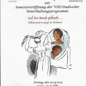 """""""Auf den Busch geklopft"""""""