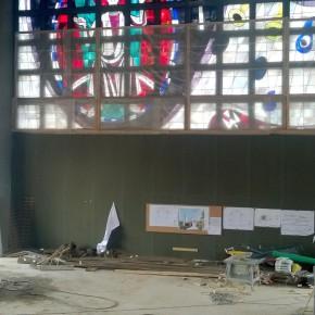 Die alten Fenster der Kirche. (Foto: Klaus Kirch)