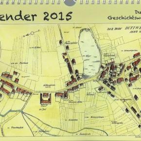 Der neue Kalender der Dudweiler Geschichtswerkstatt 2015 ist da!