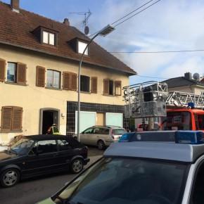 Wohnhausbrand in der Dudweiler Gartenstraße