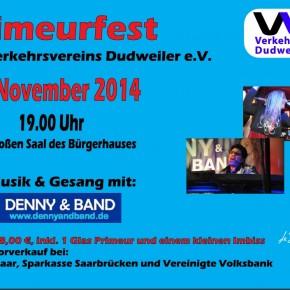 Gelungenes Primeurfest des Verkehrsvereins Dudweiler e.V.