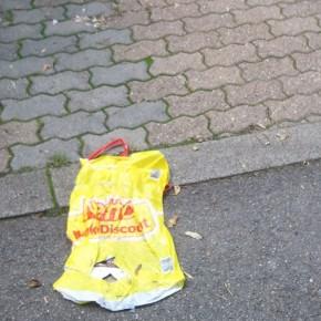 Müll auf dem LPM-Weg (Foto: Leserfoto)
