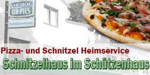 zum Pizza-Heimservice Dudweiler Schnitzelhaus im Schützenhaus - Foto: T.Braun und pixelio.de/Tim Reckmann