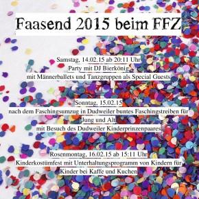 Faasend 2015 beim FFZ Dudweiler