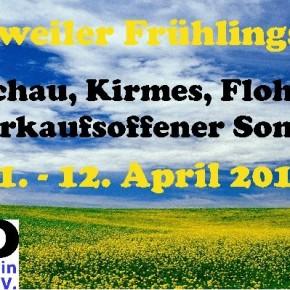 Der Frühling naht – und somit auch unser traditionelles Frühlingsfest
