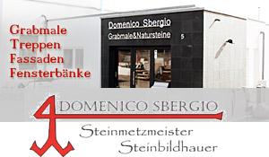Steinmetzmeister und Steinbildhauer in Dudweiler - Grabmale, Treppen, Fassaden - Domenico Sbergio