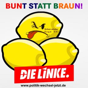 """BUNT STATT BRAUN – Treffen gegen """"SaGeSa"""" in Dudweiler"""