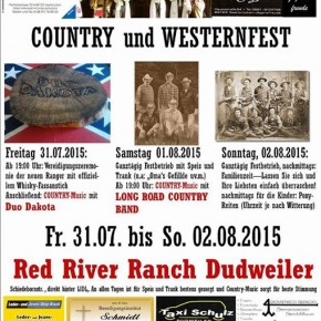Country und Westernfest der Texas Rangers auf der Red River Ranch