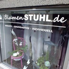 """""""Blumenstuhl"""" in der St. Ingberterstraße"""