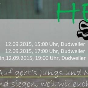 1. Heimspieltag der HSG Dudweiler/Fischbach