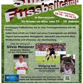 TUS Herrensohr veranstaltet Fußballcamp unter Profileitung