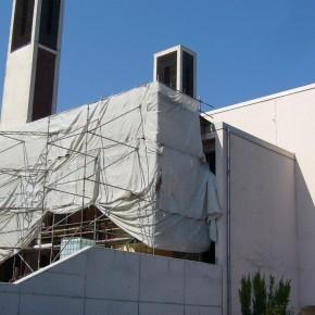 Fortschritte beim Umbau der Kirche St. Bonifatius Dudweiler