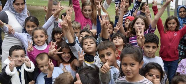 """""""Fernseher ausschalten, raus gehen und sich selbst ein Bild machen"""" - junge Dudweilerin über ihre Erfahrung in der Flüchtlingsunterkunft"""