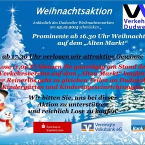 Weihnachtsaktion des VVD
