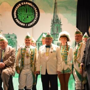 Grüne Nelke startet ins Jubiläumsjahr