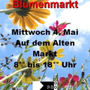 41. Blumenmarkt am 4. Mai