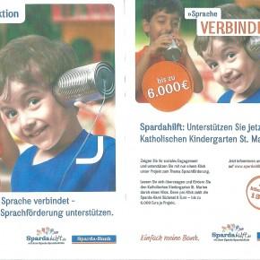 """Unterstützung bei """"Spardahilfaktion"""" für die Kita St. Marien"""